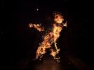 Jerome Gaspard - cascadeur - Acrobatie en Torche humaine - 2010