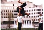 Jerome Gaspard - cascadeur - Acrobatie - Salto arabe - 1997