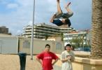 Jerome Gaspard - cascadeur - Acrobatie - Salto arabe - 2003