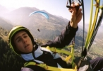 Jerome Gaspard - cascadeur - Parapente - 1998