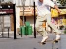 Jerome Gaspard - cascadeur - Skate - 1997