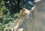 Jerome Gaspard - cascadeur - Chute de hauteur - Spectacle - Pocahontas - 1998