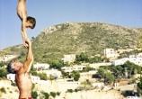 Jerome Gaspard - cascadeur - Cirque Main à main avec mon père - 1987