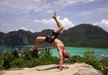 Jerome Gaspard - cascadeur - Equilibre Souplesse - Thailande - 2003