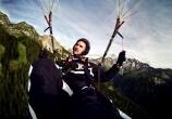 Jerome Gaspard - cascadeur - Parapente - 2009