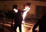 Jerome Gaspard - cascadeur - Torche humaine - 2010