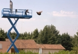 Jerome Gaspard - cascadeur - performance (1) - chute airbag