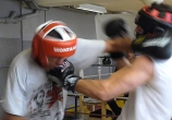 Jerome Gaspard - cascadeur - performance (20) - Boxe sparring assaut