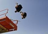 Jerome Gaspard - cascadeur - performance (5) - salto synchro  airbag