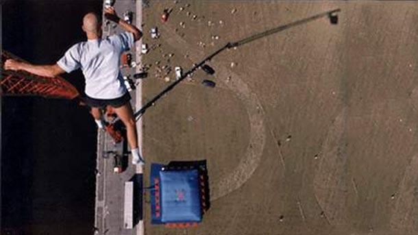 record du monde de chute de hauteur