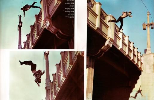 cascade - chute de hauteur (Mario Sorrenti)