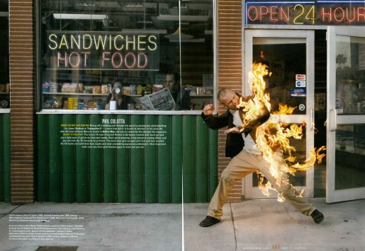 cascade - torche humaine (Rob Haggart)