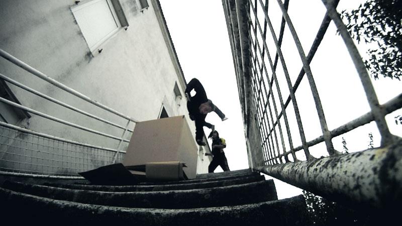 Run - Cascade Court-metrage d'action - chute escalier